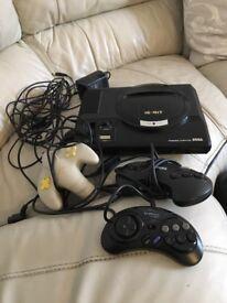 Sega mega drive 13 games 3 controllers £70 ono