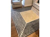 Large square IKEA rug