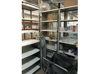 INDUSTRIAL RACKING SHELVING METAL 7 TIER GARAGE WAREHOUSE HEAVY DUTY UNIT WORKSHOP FREE DELIVERY