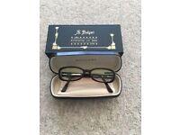 Bulgari Dark brown plastic rimmed glasses - collectable item