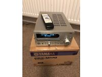 Yamaha CRX M170 CD/DAB Receiver & Cambridge Audio S30 Stand mount loud speakers
