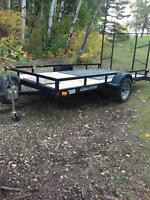 6x12 trailer perfect for a atv/side by side etc.