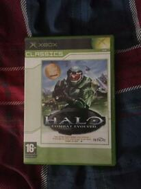 Halo combat evolved original Xbox game