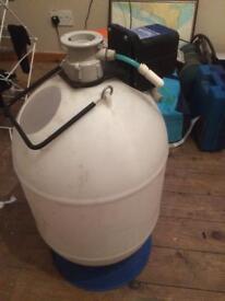 Beer making barrel