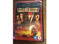 DVD box set of Pirates of the Caribbean