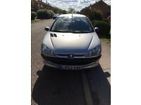 PEUGEOT 206 1.4 PETROL AUTOMATIC 5DR VERY LOW MILEAGE IN A GOOD CONDITION.£995.