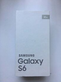 Samsung Galaxy S6 in box with all accessories SIM FREE UNLOCKED