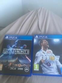 Battlefront 2 and fifa 18