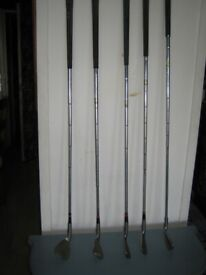 5 golf clubs for sale