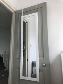 Over the door mirror - Bought £25 a year ago => Only £10 now