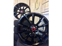 "5x110 Alloy Wheels Genuine Vauxhall Sport Astra VXR 18"""