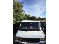 LDV convoy registered motor caravan festival or weekends away