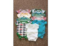 Newborn - 3 month baby boy clothes