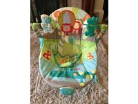 Bright Stars Up Up & Away Baby Bouncer