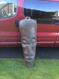 Tribal mask old