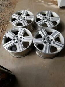 HONDA RIDGELINE / PILOT FACTORY OEM 18 INCH WHEELS WITH SENSORS.THE WHEELS HAVE SENSORS