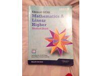 Edexcel GCSE Mathematics A Linear Higher Student Book