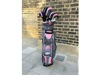 LIKE NEW Full Set of Skymax ladies clubs with covers and bag (Left handed)
