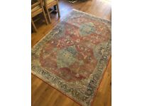 Retro, Vintage, Living Room / Dining Room Rug, Red, Blue Persian, originally from Fishpools