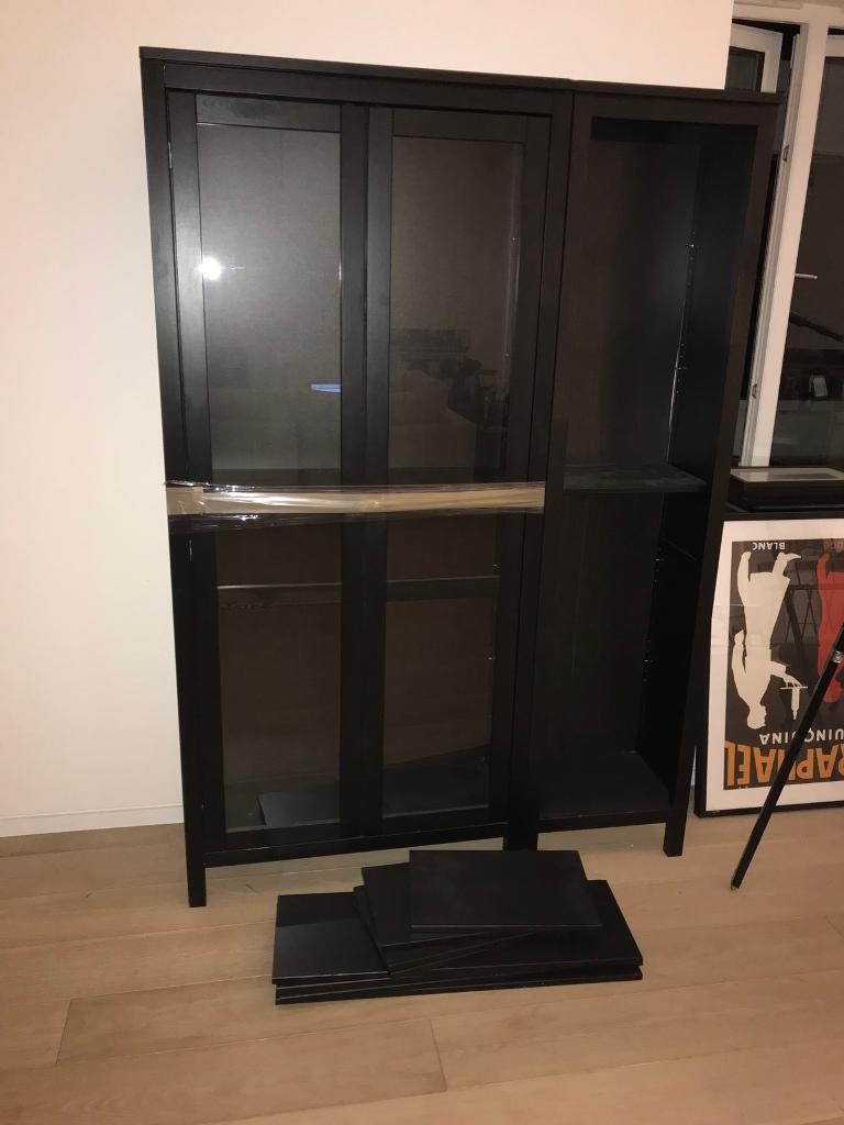 Ikea Hemnes Glass Door Cabinet And Shelves In Queens Park London