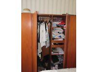 Vintage G-plan fresco teak gentlemans wardrobe, excellent condition