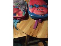 Brand new girls trolls bags