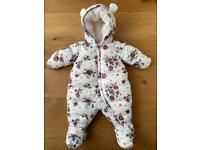 Beautiful Petit Bateau snowsuit like new 50% off (current winter collection)