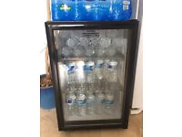 Drinks Fridge -Black- for cafe, office or at home use £50
