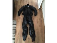 BKS Lynx Motorbike Leathers (Black) - Great Condition!!