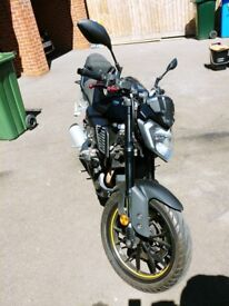 Yamaha MT-125 excellent conditions - 16 Months Yamaha guarantee left