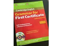 First Certificate books +CD