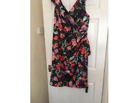 Women's floral dress size 20