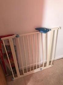 Baby gate.