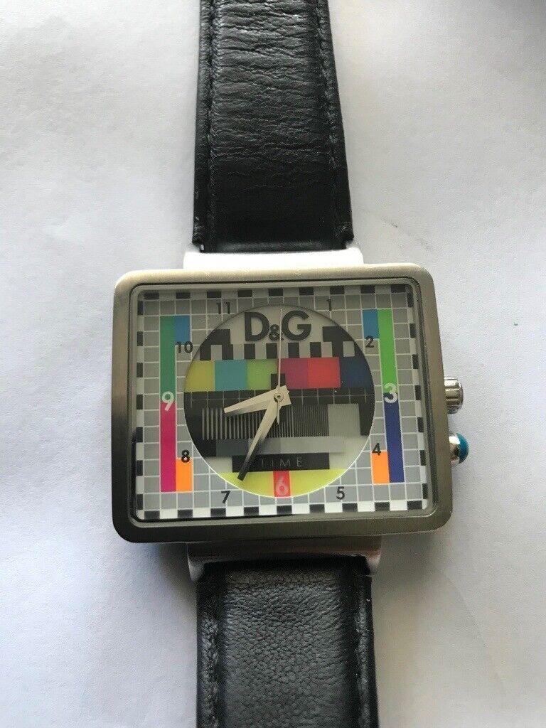 Dolce and gabbana rare watch