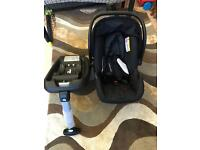 Mothercare Car Seat with Isofix base (nearly new)