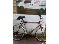 Hybrid mountain bike immaculate condition