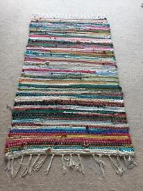 Small multicoloured rug
