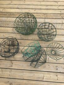 Garden Wire Baskets