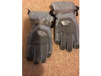North Face HyVent winter gloves