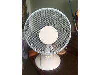 Desk fan- very good condition