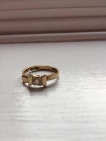 Gold ring 18 carrot