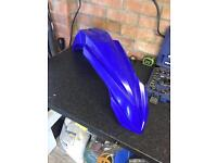 yz 125/250 front mud guard