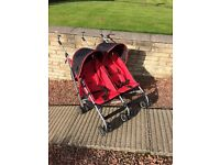 Mothercare Twin Pushchair