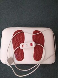 Foot massager with infra therm option