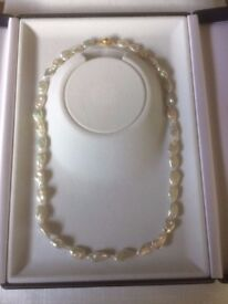 Beautiful Keshi Pearl Necklace