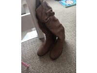 Next tan boots size 6.5