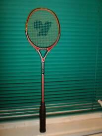 "NO TEXTS PLEASE ""YAKIN"" (Master 676) Squash Racquet (Unused) Graphite composite. £10."