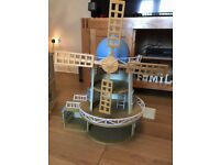 Sylvanian Windmill with furniture and Figures