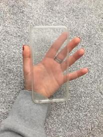 Front and back clear iPhone 6 Plus case