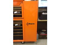 Snap on side cabinet
